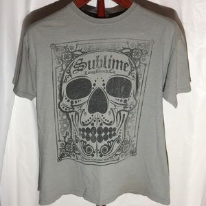 Other - Vintage Sublime Skull Tee
